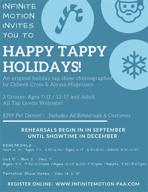Happy Tappy Holidays New
