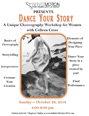 Dance Your Story w/Colleen Cross