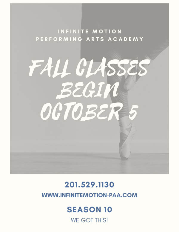 FALL CLASSES BEGIN OCTOBER 5a